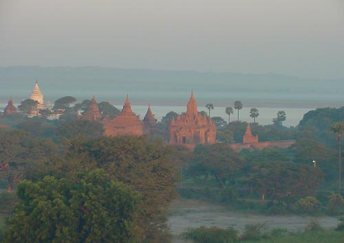 photo Bagan depuis Ballon à air chaud, Myanmar