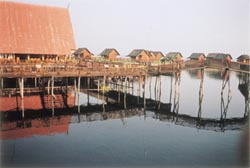 photo hôtel GIc au lac INle, au Myanmar