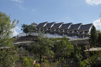 king bridge hotel at Mogok